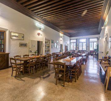 Breakfast Room Salone Colazioni Foresteria Valdese Venezia