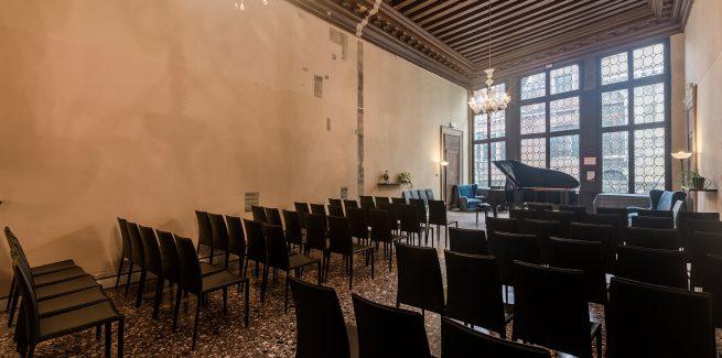 Salone Concerti e Conferenze Palazzo Cavagnis Foresteria Valdese Venezia
